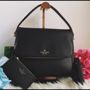 Kate Spade Miri Satchel With Matching Wallet